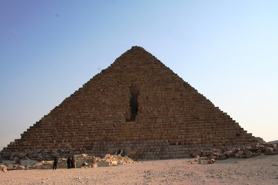 The Pyramid of Mykerinus