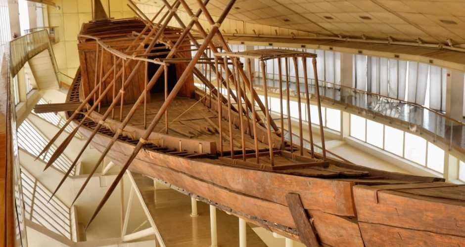 The boat museum of king Cheops