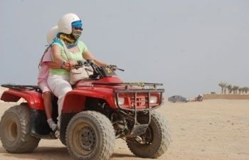 Super Desert safari by Quad from Hurghada