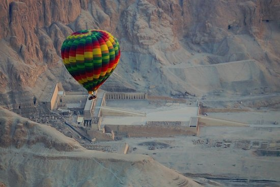 luxor two days tour from Hurghada with hotair balloon